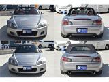 S2000 2.0 タイプV ガラススクリーン幌 オプションBBS16AW