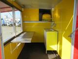 キャリイ 移動販売車 2槽シンク 大型販売窓 軽貨物登録