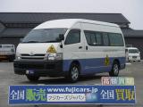 ハイエース  幼児バス3.0D乗車定員4+18人 AT