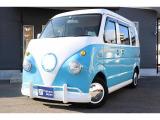 エブリイ 移動販売車 ワーゲンバス仕様 8ナンバー 2槽シンク