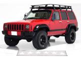 ジープ・チェロキー スポーツ 4WD リフトアップ ワイドオーバーフェンダー
