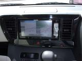 ナビはメモリーナビを装備。 フルセグ・CD/DVD再生・Bluetooth接続等多機能なナビです。