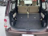 リヤシートを畳めば大きな荷物でも大丈夫です