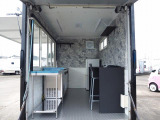 アトラス  移動販売車 キッチンカー 8ナンバー加工車登録