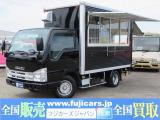 エルフ 移動販売車 キッチンカー 8ナンバー 加工車登録