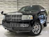 ナビゲーター 5.4 4WD 08モデル 正規D車 黒革 電動ステップ 8人乗