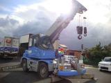 コマツ  ラフテレーンクレーンLW100M-1 主軸フック4.9トン吊 6段ブーム