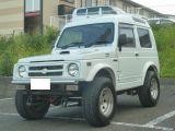 ジムニー パノラミックルーフ EC 4WD リフトアップ(公認) 社外AW オーバーフェンダー...