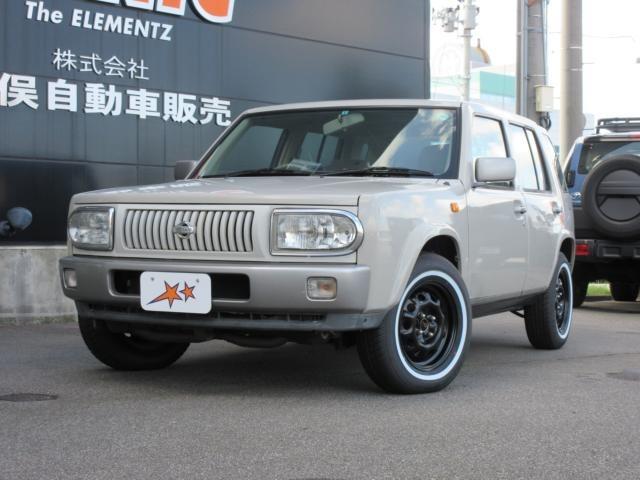 日産 ラシーン  タイプ1 4WD ホワイトリボンタイヤ装着
